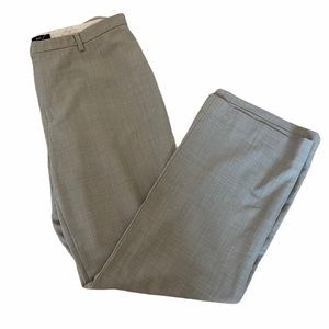 GAP Wool Blend Grey Wide Leg Dress Pant Trouser 14